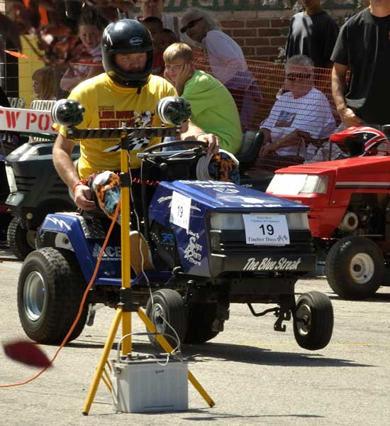 > Lawn Mower Racing in Hartfield, VA